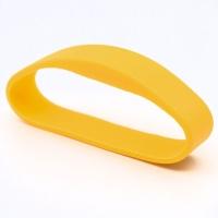 Silikone armbånd gul, Salto formateret