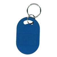 Nøglevedhæng/Key Change Proxbrik EM 4200, 125 KHz chip, blå / blåt Format: 51 x 31 x 5 mm. Denne chip understøtter kortlæsere til EM 4100, EM 4102 og EM 4200. Fra RD Data