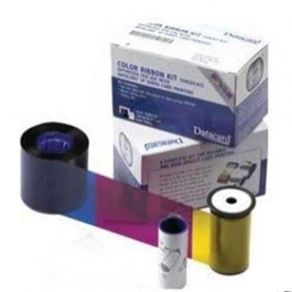 DataCard YMCKT, 535000-003 (gl. nr. 552854-604) Dette farvebånd passer til:  CP40, CP40Plus, CP60, CP60Plus, CP80, CP80Plus, CD800 med flere. Til 500 farveprint, fra RD Data
