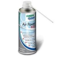 Air-power + Vacum-power 400 ml. er en kraftig trykluftsrenser med ikke-brændbar og miljøvenlig drivgas. Kan påmonteres en trykluftsdrevet sugeenhed. Fra RD Data