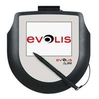 Evolis SIG200 er en underskriftscanner med farveskærm, som med sin hukommelse f.eks. kan vise billeder af din virksomhed.  Med dens glatte overflade fanges den perfekte signatur hurtigt og nemt.  Skærmstørrelse: 100 x 75 mm.  Fra RD Data