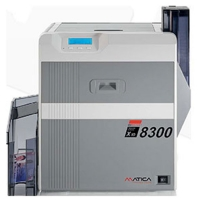 Matica XID 8300 - enkeltsidet retransfer printer med mulighed for sikkerhedsfunktioner, bl.a. UV print. Print op til 120 kort i timen. 2 års garanti og fri hotline service hos RD Data