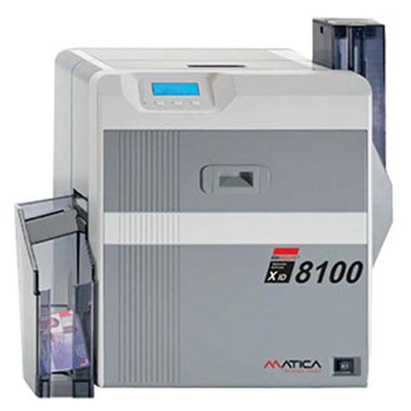 Matica XID 8100 - Dobbelt Reverse Thermal Image Transfer kortprinter, 2 års garanti hos RD Data