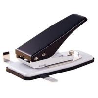 Stansemaskine bordmodel med anlægsskinne til aflangt hul 3 x14 mm. til halssnore, seleclips m.m. fra RD Data