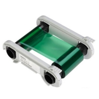 Grønt farvebånd til Evolis Zenius, Primacy, Edikio Flex og Duplex,  Evolis Zenius og Primacy grøn farvebånd til 1.000 grønne print. Produktnummer: RCT014NAA, fra RD Data