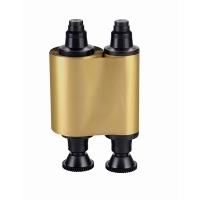 Evolis farvebånd guld til model Pebble, Dualys, Securion og Quantum. Til 1.000 print. Produktnummer: R2016 fra RD Data