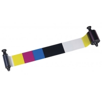 Evolis 5½-panel farvebånd R3013, Evolis farvebånd YMCKO til 4 farvet og sort print til ID-kort m.m Til model Pebble, Dualys og Quantum. Til 400 print 4 farvet og sort. Produktnummer: R3013, fra RD Data