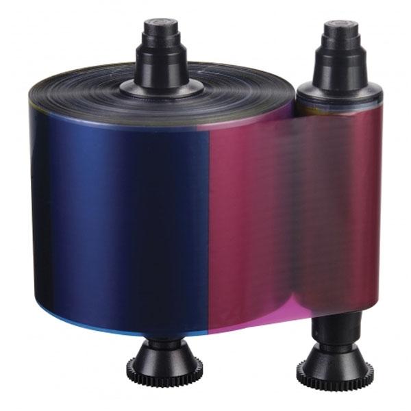 Evolis farvebånd YMCKO til 4-farvet print. Kun til model Quantum2. Til 500 print. Produktnummer: R3511, fra RD Data