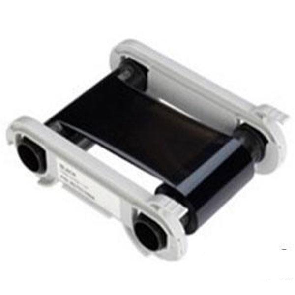 Sort Flex /wax farvebånd til 1.000 print. Produktnummer: RCT019NAA, Voksfarvebånd til print på specielle papkort og andre vanskelige overflader. Passer til Evolis Zenius og Evolis Primacy plastkortprinter, fra RD Data