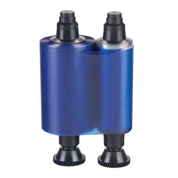 Evolis farvebånd blå/ blåt til model Evolis Pebble, Dualys, Securion og Quantum.  Til 1.000 print. Produknummer: R2012, fra RD Data