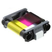 Badgy 200 YMCKO farvebånd, Evolis Badgy 200 YMCKO farvebånd til 100 x 4-farvet print. Produktnummer: CBGR0100C fra RD Data