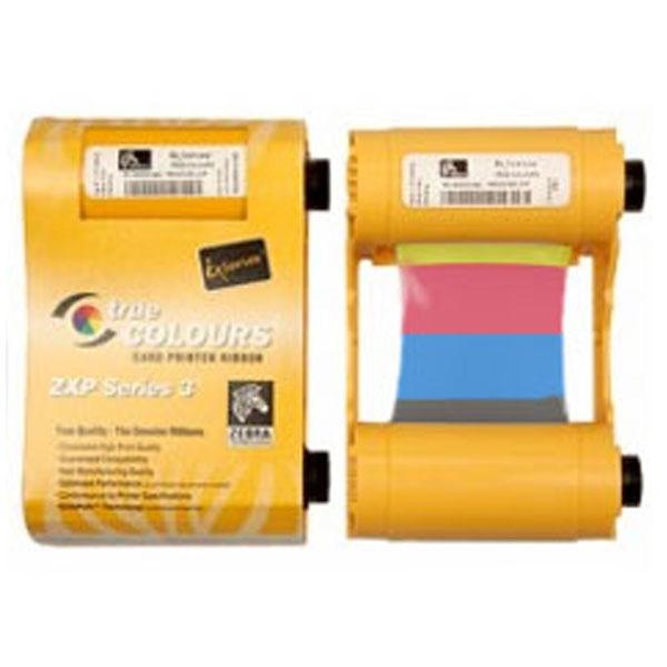 YMCKOK, 4-farve + sort til bagside print 800033-849.  Til 160 print, til Zebra ZXP serie 3, Zebra ZXP serie 3 YMCKOK farvebånd fra RD Data