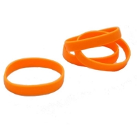 Orange silikone armbånd fra RD Data