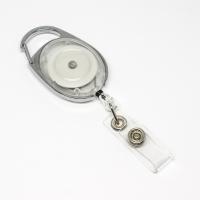 Transparent, praktisk og kraftig yoyo med nylonsnor, stærk fjederbelastet metalkrog og metaltryklås på båndet, fra RD Data
