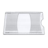 Transparent kortetui i hård plast, Billige kortholdere og etuier fra RD Data