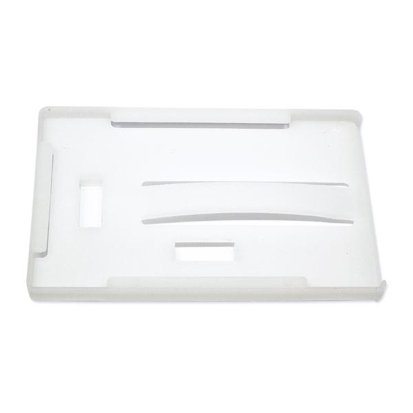 Åben kortholder til 3 kort, hvid plast