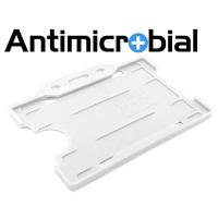 Antibakteriel kortholder, hvid, til medicinalindustrien, sundhedssektoren, hjemmeplejen mv., fra RD Data