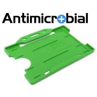 Antibakteriel kortholder, grøn, til medicinalindustrien, sundhedssektoren, hjemmeplejen mv., fra RD Data