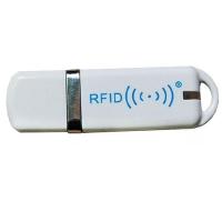 RFID Pen - 125 kHz læser, R60D-USB-8H10D, 125 kHz læser til Uem4100, TK4100, SMC4001, EM4102 og kompatible chips. 10 cifre decimalt output. USB til keyboard-interface. USB-nøgleformat, fra RD Data