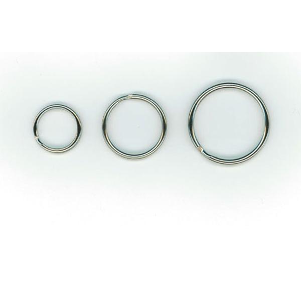 Nøglering i metal Ø 25 mm. Poser med 100 stk. Stort udvalg i plastkort, kortprintere, kortholdere, lanyards, yoyo'er samt diverse tilbehør hos RD Data