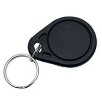 Nøglebrik RFID og MIFARE komp. - sort