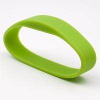 Silikone armbånd grøn, Salto formateret
