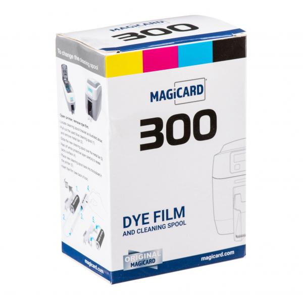 Magicard 300 YMCK farvebånd og renserulle